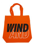 WIND AND SEA TOTE BAG A ORANGE