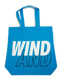WIND AND SEA TOTE BAG A BLUE