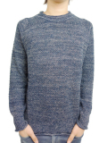 Toecutter Feather Knit Deep Crew L/S NAVY