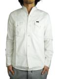 Battalion Lee×Battalion  Denim Band Collar Shirts White