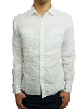 Battalion Gauze Shirt WHITE