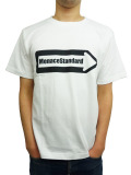 "MenaceStandard S/S TEE ""One Way"" WHITE"