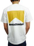 "MenaceStandard S/S TEE ""Marl"" WHT/BEG"