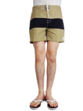 ALOHA BEACH CLUB TUCKER SHORTS KHAKI/BLACK