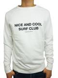 SALT SURF SURF CLUB SWEATSHIRT WHITE