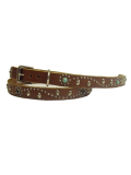 HTC STUDS BELT SN32-SP LT.BROWN