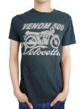 Johnson Motors Inc. S/S TEE VENOM 500 OILED BLACK