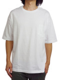 Toecutter Pocket Big Tee WHITE