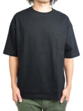Toecutter Pocket Big Tee BLACK
