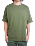 Toecutter Pocket Big Tee OLIVE
