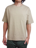 Toecutter Pocket Big Tee BEIGE
