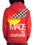 Rolland Berry 別注 Zip Up Hoodie 'Made in California' Red