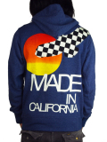 Rolland Berry+rF Zip Up Hoodie 'Made in California' Navy