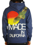 Rolland Berry 別注 Zip Up Hoodie 'Made in C.A. camo' Navy