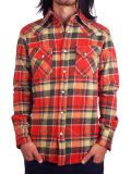 Toecutter Cotton Flannel Shirt Red