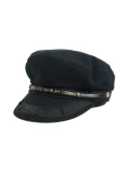 HTC #2040 GREEK FISHERMAN CAP BLACK