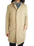 "Battalion GRUNGY WOOL COAT ""J"" BEIGE"