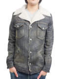 Battalion Denim Ranch Jacket Black