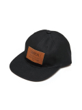 "SURREAL ""DUANE"" 6 Panel Canvas Cap BLACK"