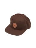 "SURREAL ""TONY"" 6panel Twil Cap BROWN"