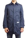 """SURREAL """"SATOSHI"""" Soutien Collar Coat NAVY"""