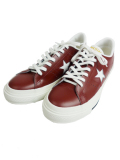 CONVERSE ONE STAR J MAROON