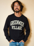 TMT L/SL18/1 BOOKSTORE JERSEY(GREENWICH VILLAGE) BLACK
