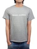 BANKS LABEL TEE SHIRT HEATHER GRAY
