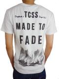 TCSS MADE TO FADE TEE BLANC