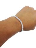 Bead Relief Howlite Peace Bracelet