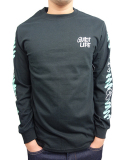 THE QUIET LIFE Jarvis Long Sleeve Tee Black