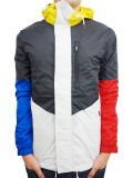 THE QUIET LIFE Park Windbreaker Jacket BLACK