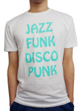 BEACH ASS PUNK JAZZ S/S TEE WHITE