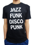 BEACH ASS PUNK JAZZ S/S TEE BLACK