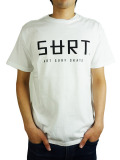 SURT LOGO TEE By SURT WHITE