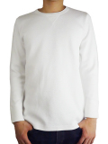 Seagreen L/S thermal white