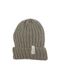 LIFE IS.... COTTON KNIT CAP GREY