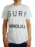 "SALVAGE PUBLIC S/S TEE ""Surf Honolulu"" WHITE"