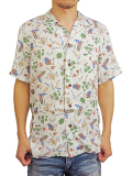 Birvin Uniform ALOHA SHIRT WHITE