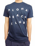 "ALOHA BEACH CLUB S/S ""CIRCUS"" TEE NAVY"