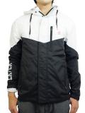 THE QUIET LIFE MC Windbreaker Jacket Black/White