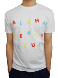 "ALOHA BEACH CLUB S/S ""CIRCUS"" TEE WHITE"