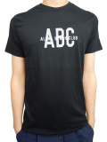 "ALOHA BEACH CLUB S/S ""COLLEGE"" TEE BLACK"