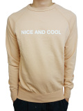 SALT SURF NICE AND COOL SWEATSHIRT PEACH