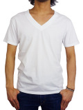 Freeseam BASIC V NECK CBSTCH WHITE