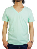 Freeseam BASIC V NECK CBSTCH SKY BLUE