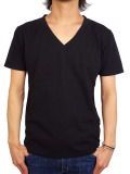 Freeseam BASIC V NECK CBSTCH BLACK