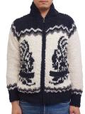 Birvin Uniform Zip-Front Cowichan BLOUSON