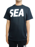 WIND AND SEA T-SHIRT A BLACK