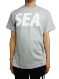WIND AND SEA T-SHIRT A GRAY